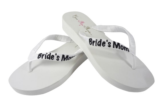 Bridal Flops White or Glitter Color Flip Blue heel Heel heights amp; all Bride Flip sizes Wedding or Navy Wedges Ivory Flops Choose 7dOqnnWzZ