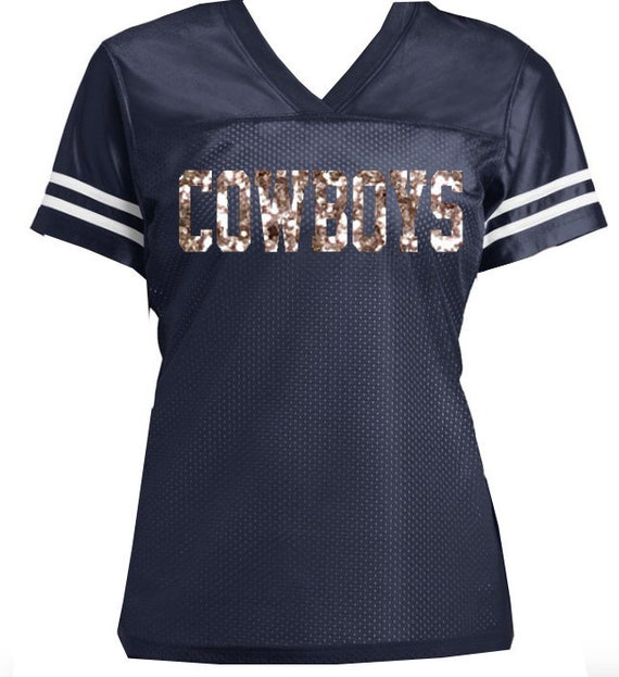 Silvery Glitter Cowboys or Choose your Favorite Team Football  bb2881fc4