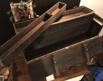 The Beals and Selkirk Trunk Company Carpenter's Tool Box