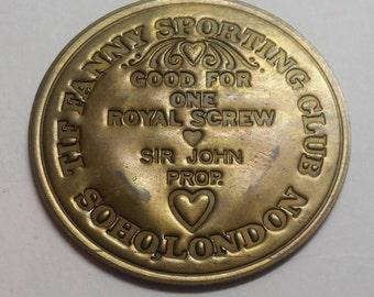 The Fanny Sporting Club Soho London Good For One Royal Screw