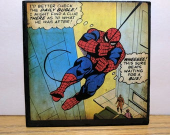 Spider Man wall plaque