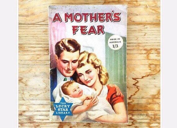 40s Romance Motherhood Pulp Fiction Magazine Book Novella A Etsy