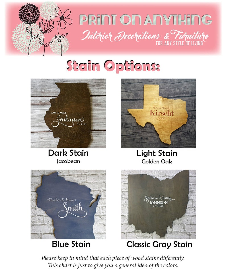 Unique Wedding Guest Book Alternative Custom State Sign Personalized Wood State Cutout Wood Guest Book State Guest Book Photo Prop Texas