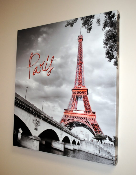 Paris Decor Paris Bedroom Decor Paris Print Canvas Wall Art Etsy