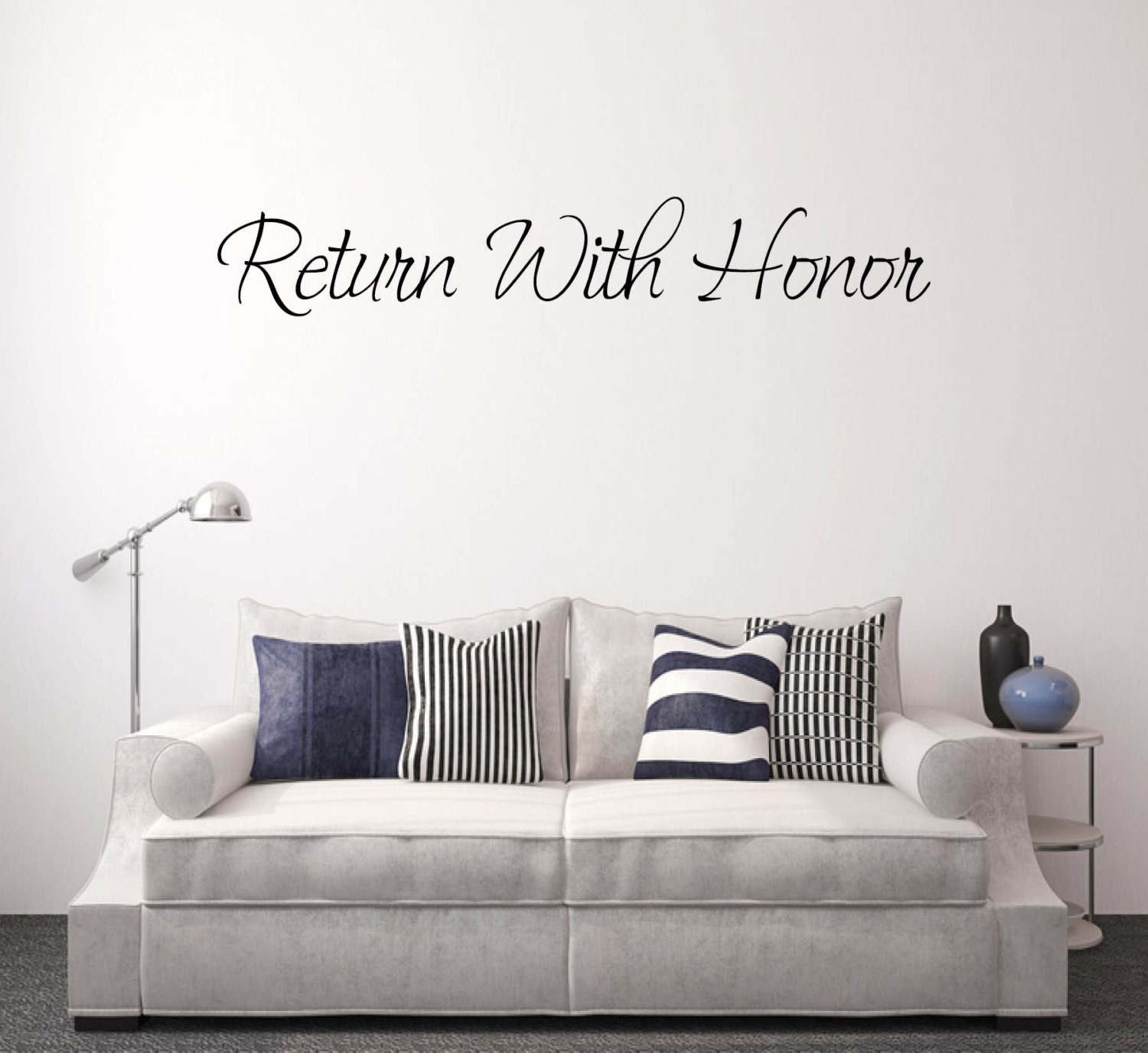Wall Decal Quote, Vinyl Decal, Wall Decals Living Room, Wall Decals ...