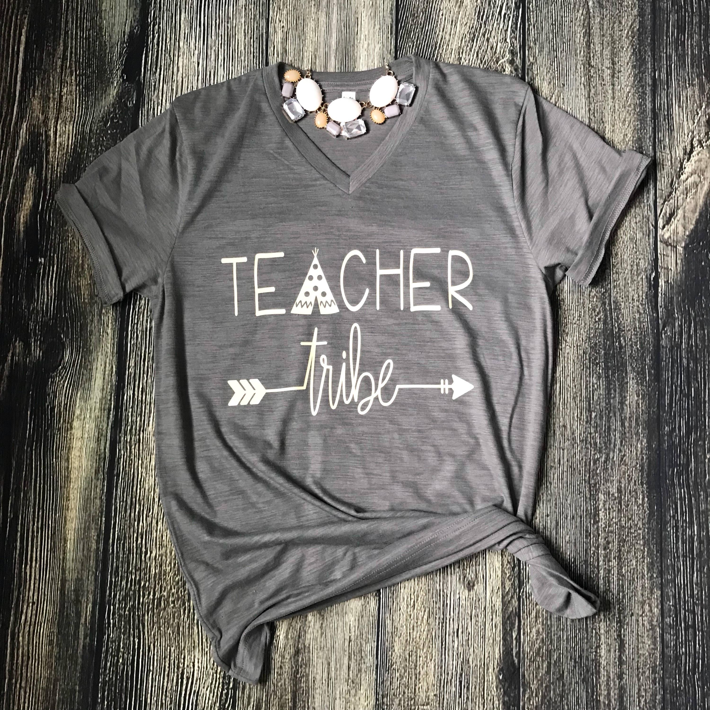 35d3c03b Teacher Tribe Teacher Shirt Teaching Team Teacher Gift | Etsy