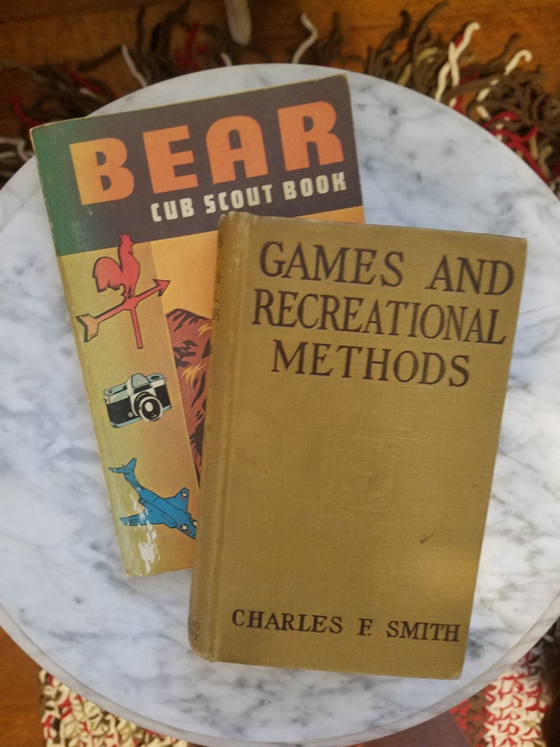 Vintage Scouting/Camping Books