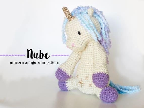 Lola the Flamingo crochet pattern Unicorn | Crochet unicorn ... | 428x570