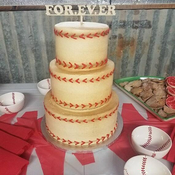FOR. EV. ER Cake Topper Sandlot Quote Wedding Cake Toppers | Etsy