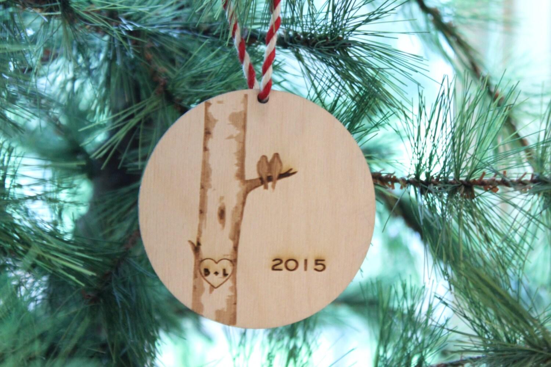 Erstes Weihnachten Ornament frisch verheiratete | Etsy