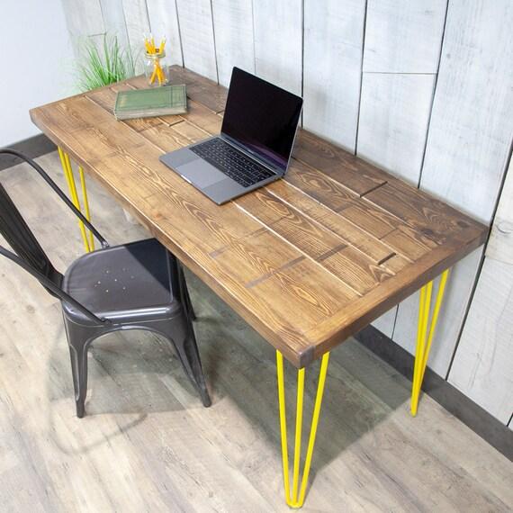 huge discount 52ec1 e856e Desk, Vintage, Handmade, Office, Table, Wood, Office Desk, Computer Desk,  Industrial Desk, Reclaimed Wood, Rustic, Vintage Desk, Wood Desk