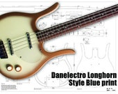Detailed PDF digital plans to build a Danelectro Big horn bass style instrument.
