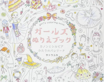 New Book Girls Coloring
