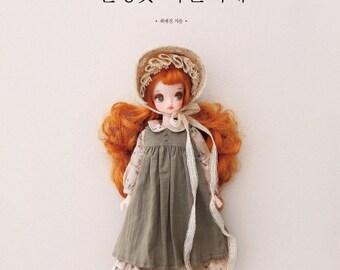 Doll's clothes Atelier - Korean doll coordinate recipe book