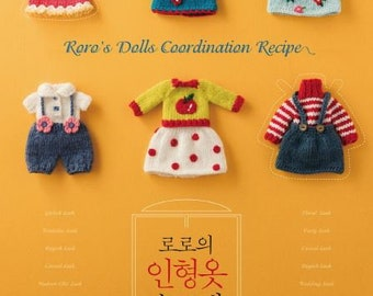 knitted doll clothes by RoRo