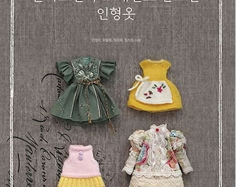 Doll clothes by hand sewing and knitting