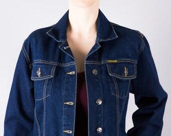 Jeansjacke abgeschnitten | Etsy