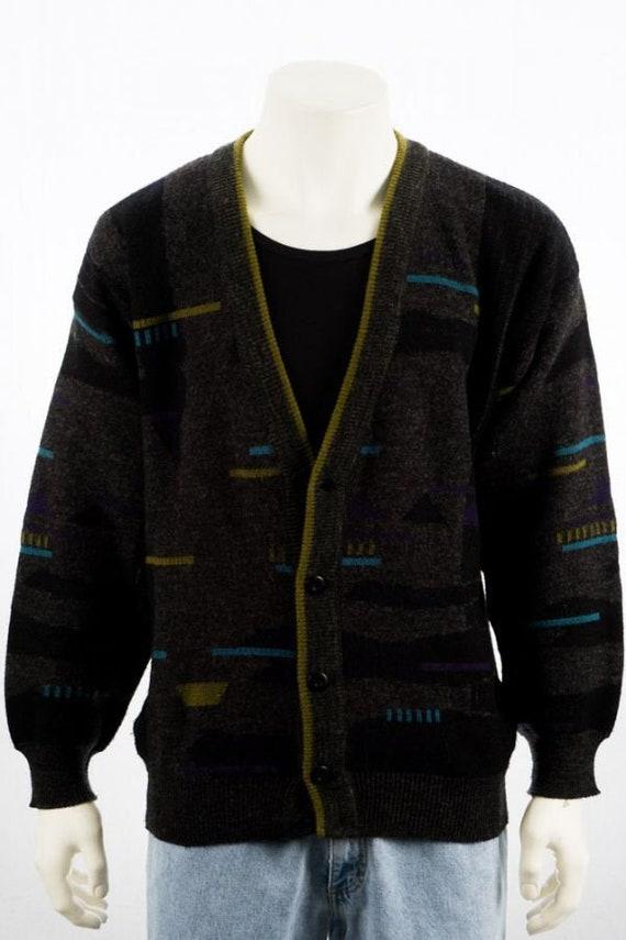 Vintage Walbusch wool cardigan knit Jacket wool s