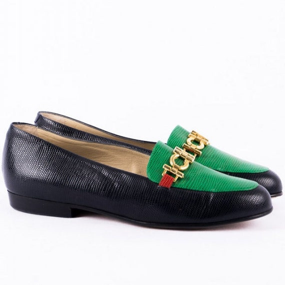 Donna Carolina Loafers -38.5- *Deadstock* Slippers