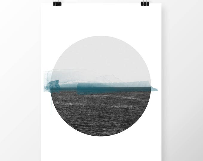 Featured listing image: Art Print Dublin Bay The Sea
