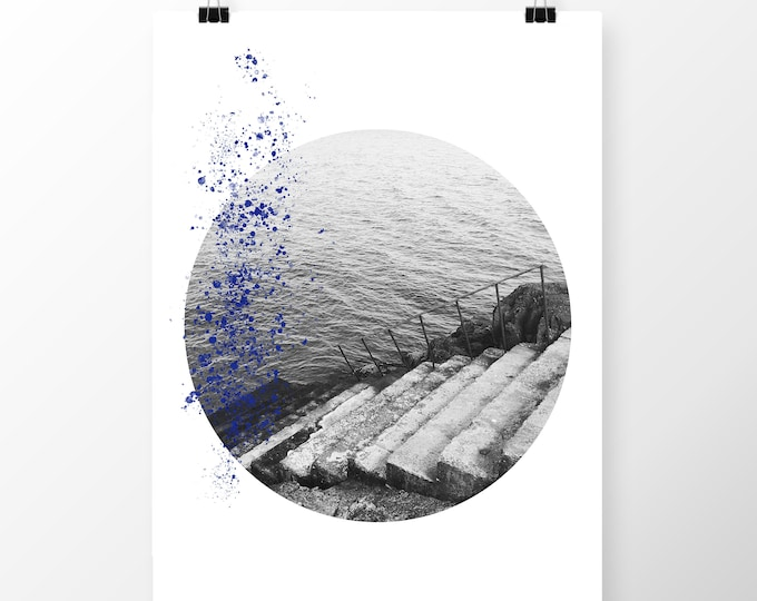 Art Print Sea steps