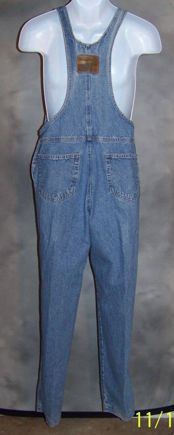 Vintage Wrangler Denim jeans Coveralls Overalls C… - image 4