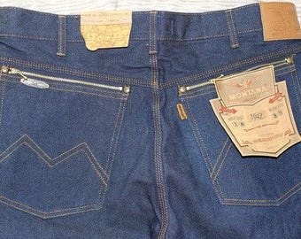 MONTANA jeans 10040 vintage W(30,31,32,33,34,36,38,40,42) L34 new in a package.