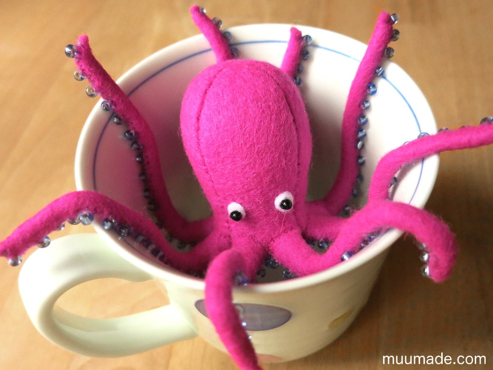 Awesome Octopus Stuffed Animal Sewing Pattern Component - Blanket ...