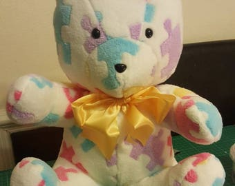 Puzzle Teddy Bear