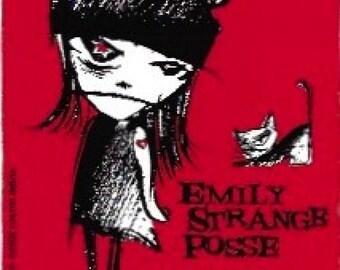 8c6ee35665 Emily Strange Posse Collectible Vinyl Sticker