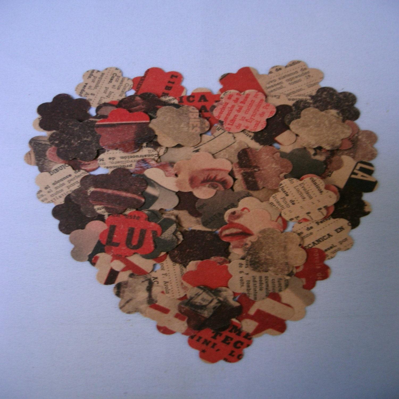 Paper Punchper Flowerdownpiaembellishmentsdie Etsy