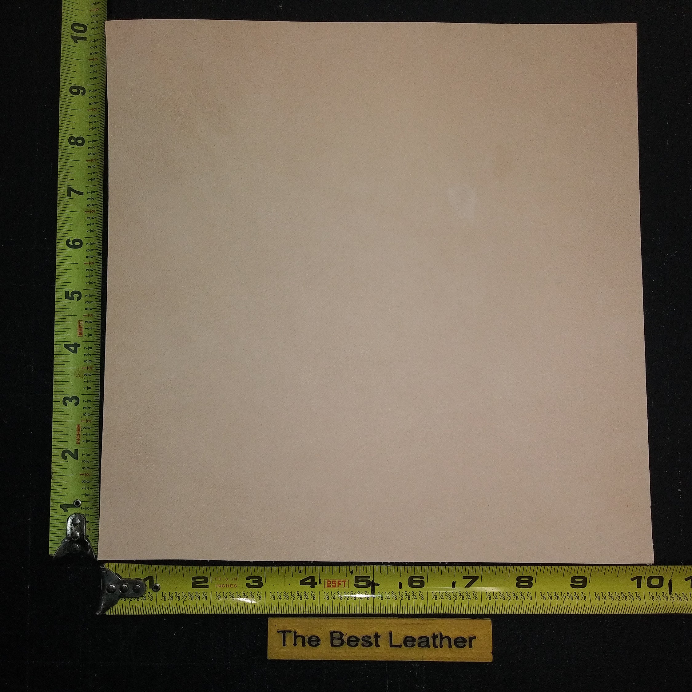 "QLTY 1st 32/"" x 9/"" Vegetable Tanned Cowhide 5 to 6 oz Tooling Leather Piece"