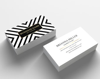 Business card template 05 2 sided business card design etsy business card template 04 2 sided business card design appointment card for salon or hair stylist photoshop business card template flashek Gallery