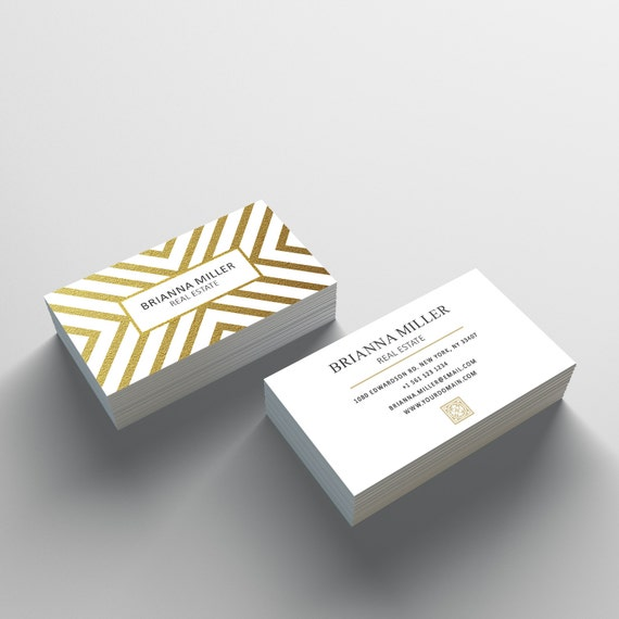 Business card template 05 2 sided business card design etsy image 0 cheaphphosting Image collections