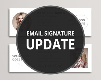 Email Signature Update or Additional Company Signatures
