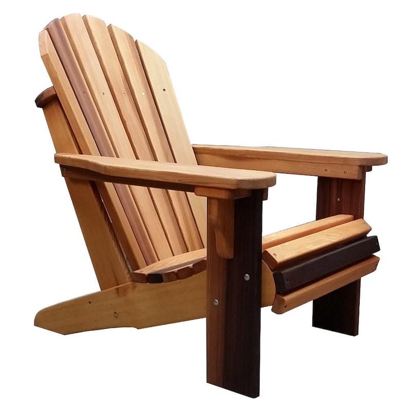 Adirondack Chair Kussens.Premium Western Red Cedar Wood Adirondack Chair