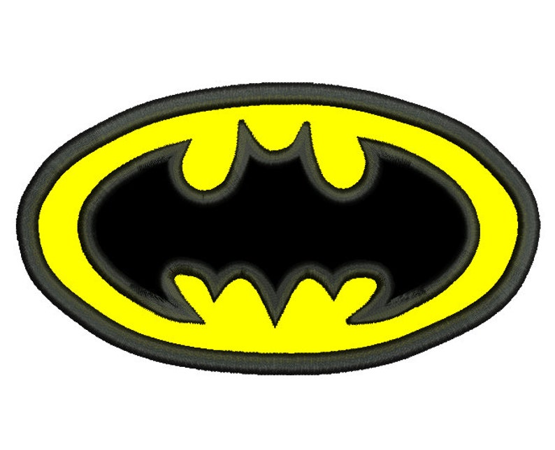 Stickdatei Batman Batman Logo Super Hero Applikation Jungen Batman Stickerei 4 Größen Sofortiger Download Nein Sa558 1