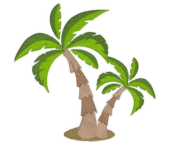 Joyful Stitches Summer Embroidery Design Island Breeze Palm Tree Monogram Machine Embroidery Design Font Set Beach Embroidery Design