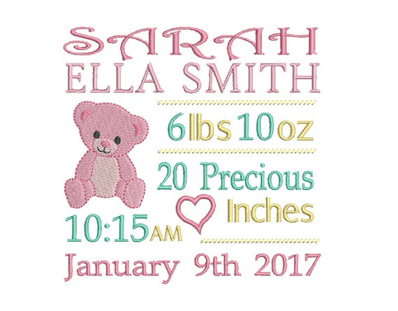 27+ Baby Birth Announcement Template Crafter Files
