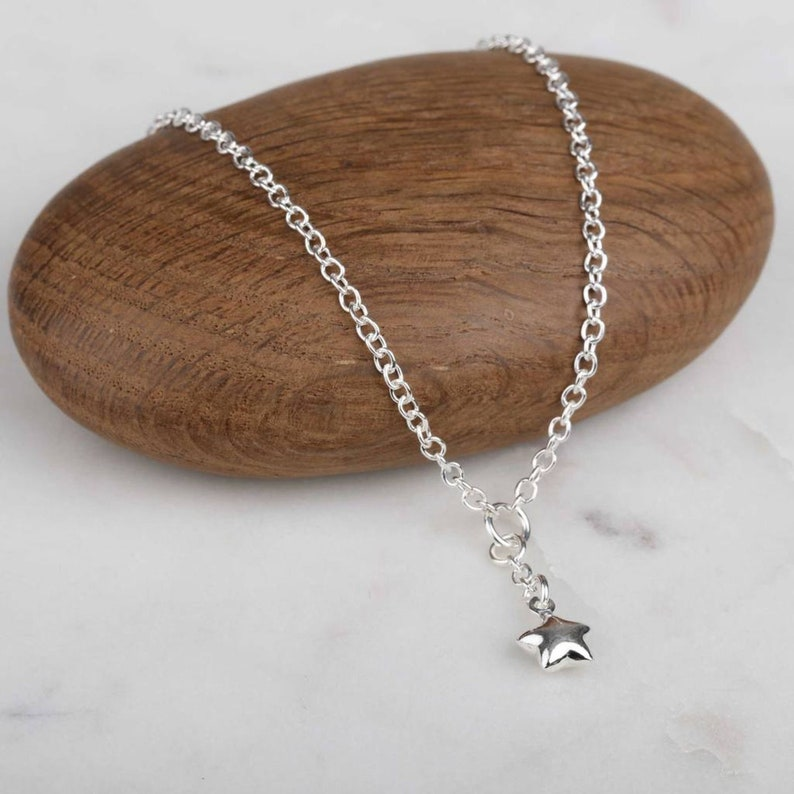 Anklet With Silver Star Charm