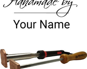 "BN-100 ""Handmade"" Flame or Electric Branding Iron"