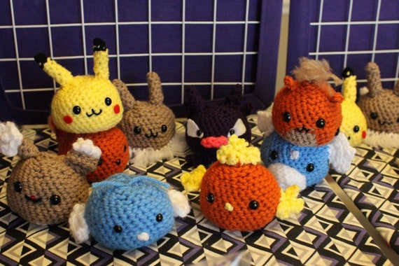 pattern #amigurumi#pokemon #jamecrochet#crochet | Háčkované hračky ... | 380x570