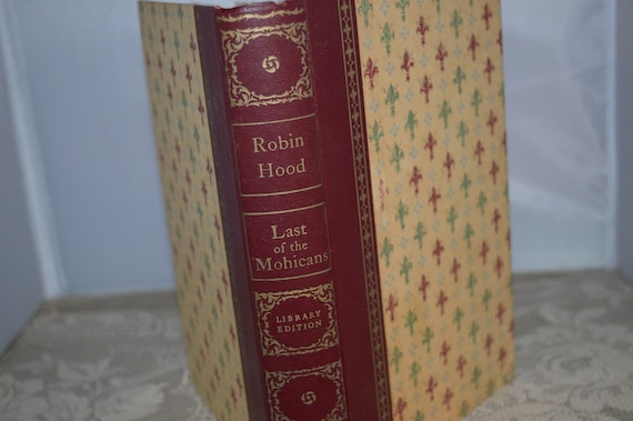 Robin Hood Maurice Lapman 1952 The Last Of The Mohicans Etsy