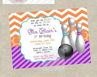 Girls Bowling Invite