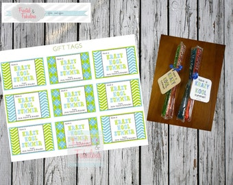 End of School Gift Tags