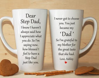 Step Father Gift Dad Of The Bride Groom Fathers Day Mug
