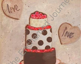 Love Cake Mixed Media for All Occasions, S&H INCLUDED