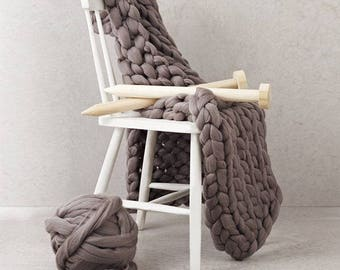 Giant Blanket Knitting Kit