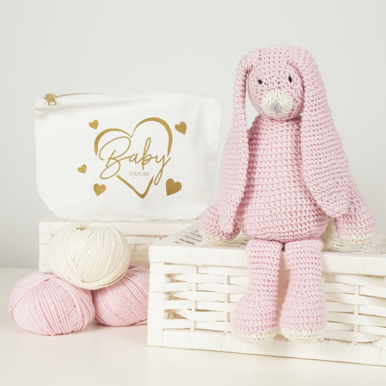 cute amigurumi bunny pattern for valentines day! | Crochet bunny ... | 794x794