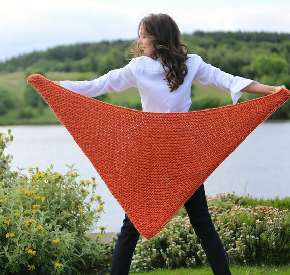 Diy Stricken Kit Poncho Wrap Schal Stricken Lernen Etsy